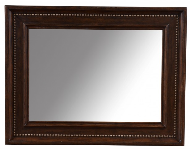 Whiskey Barrel Oak Landscape Mirror