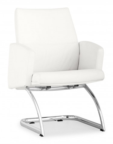 Chieftain White Conference Chair