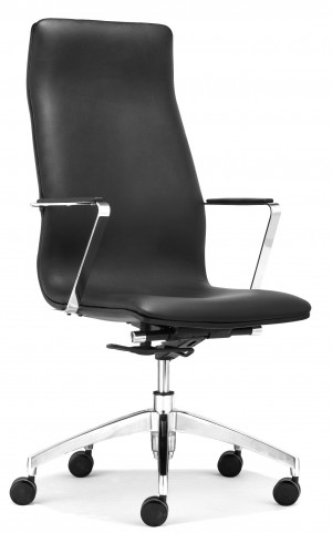 Herald Black High Back Office Chair