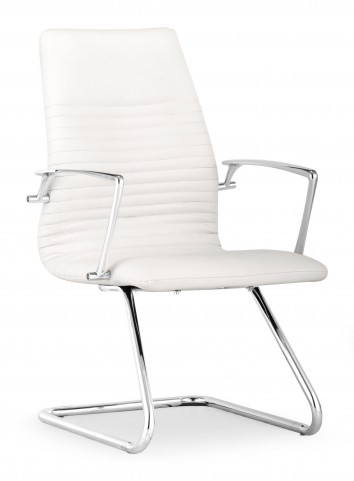 Lion White Conference Chair