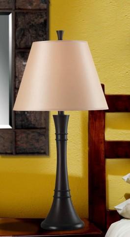 Rowley Mahogany Bronze Table Lamp