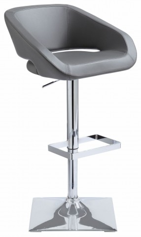 Gustavo Grey Adjustable Barstool