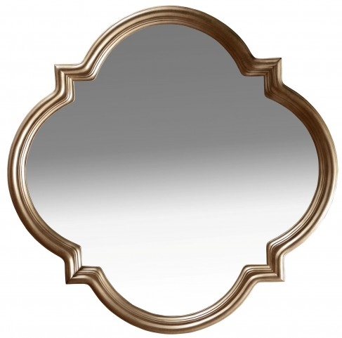 Cosmopolitan Bronze Shaped Mirror