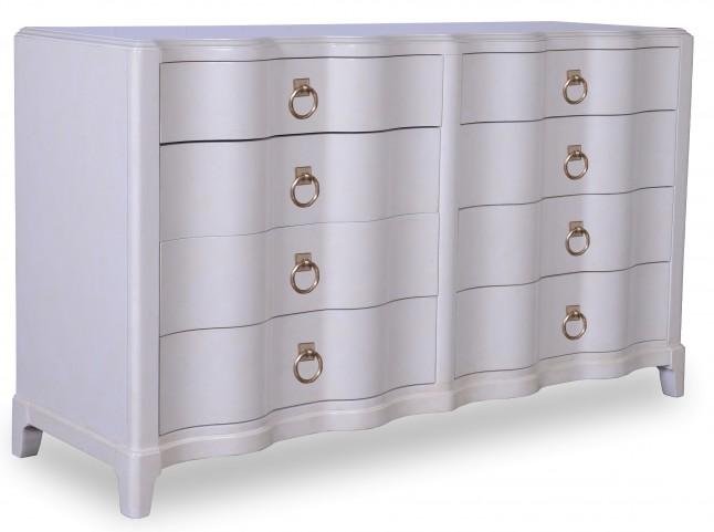 Cosmopolitan Parchment Drawer Dresser