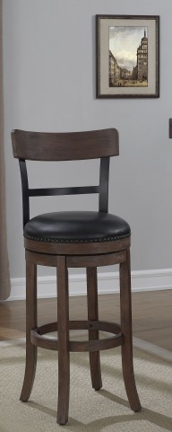"B2-208-26L 26"" Wood Frame Back Bar Stool"