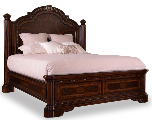 Valencia Cal. King Panel Bed