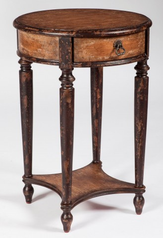 Jules Artists' Originals Old Spanish Mission Accent Table