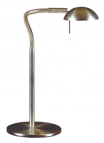 Basis Brushed Steel Desk Lamp