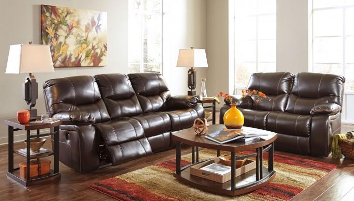 Pranas Brindle Power Reclining Living Room Set