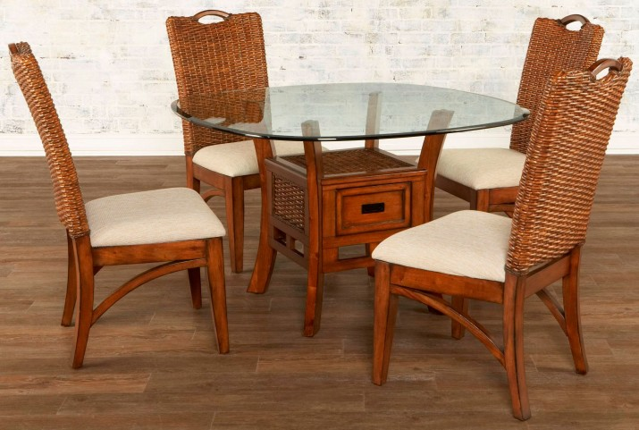 Bali Round Dining Room Set
