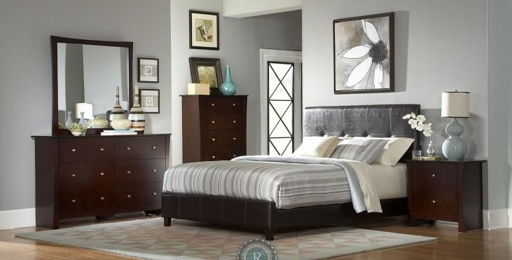 Avelar Panel Bedroom Set