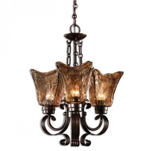 Vetraio 3Lt Oil Rubbed Bronze Chandelier