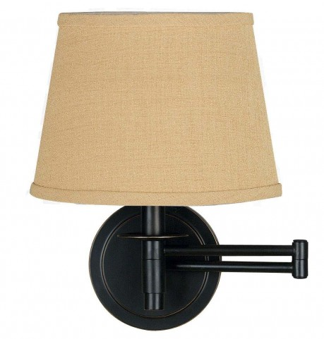 Sheppard Oil Rubbed Bronze Wall Swing Arm Lamp