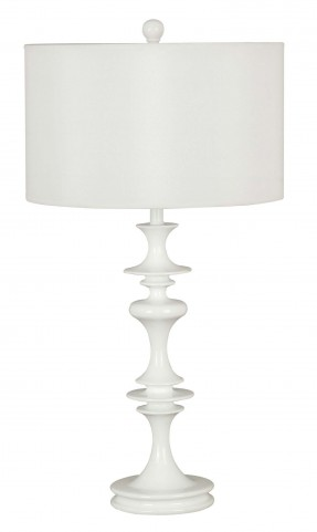 Claiborne White Gloss Table Lamp