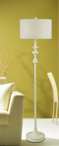 Claiborne Glossy Yellow Floor Lamp