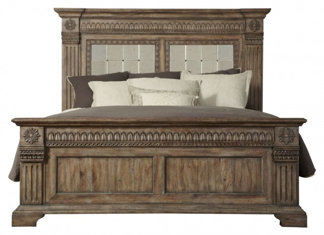 Arabella Queen Panel Bed