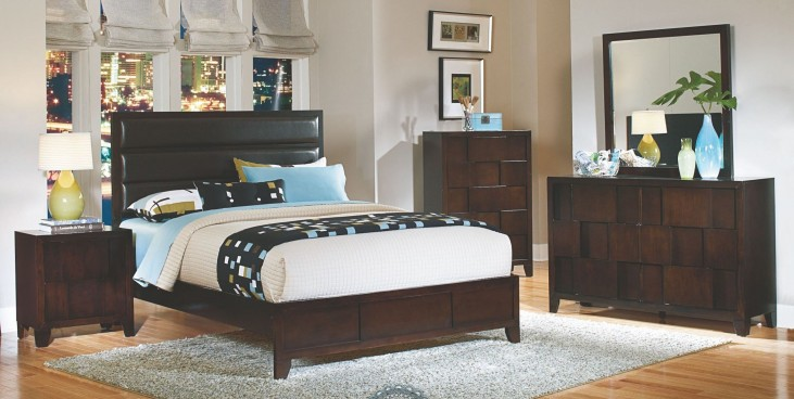 Romano Panel Bedroom Set
