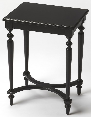 Tyler Black Licorice Accent Table
