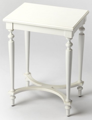 Tyler Cottage White Accent Table