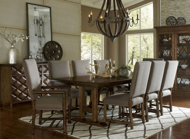 Echo Park Huston's Arroyo Trestle Extendible Dining Room Set