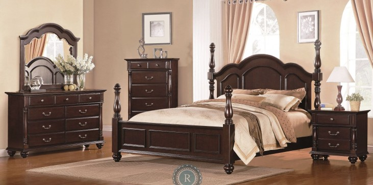 Townsford Poster Bedroom Set