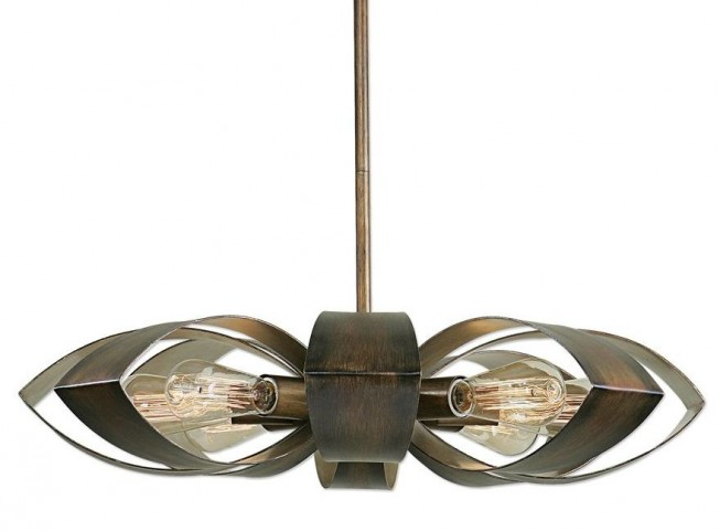 Daisy 8 Light Industrial Pendant