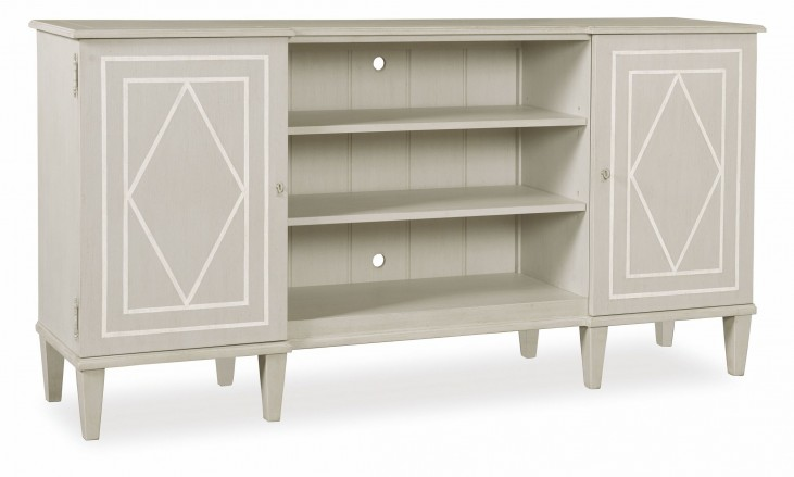 Chateaux Grey Entertainment Console
