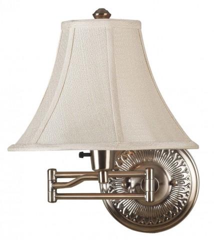Amherst Bronzed Brass Wall Swing Arm Lamp