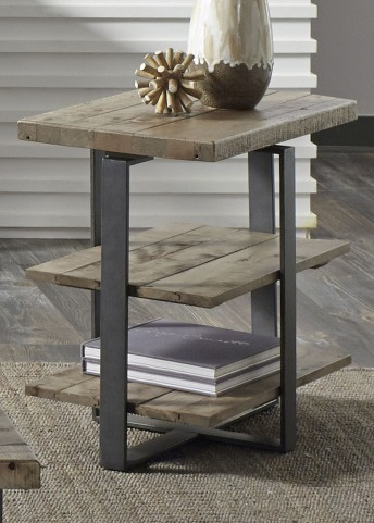 Baja Weathered Chair Side Table
