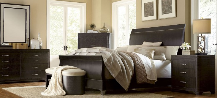 Greenpoint Sleigh Bedroom Set