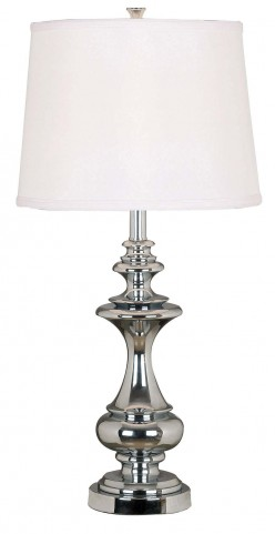 Stratton Chrome Table Lamp