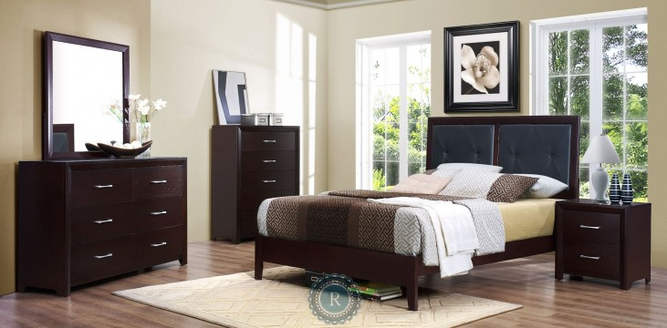 Edina Platform Bedroom Set