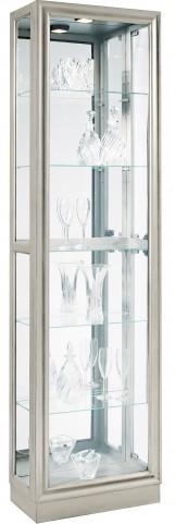 Platinum Four adjustable glass shelves Curio