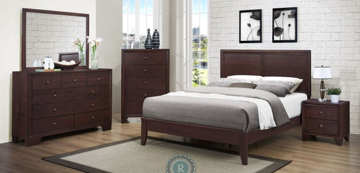 Kari Panel Bedroom Set