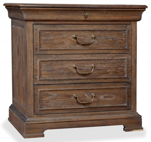 St. Germain 3 Drawer Nightstand