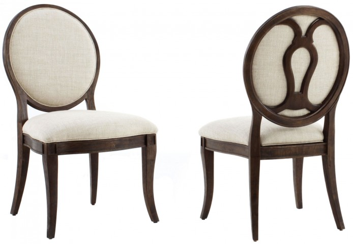 St. Germain Oval Back Side Chair Set of 2