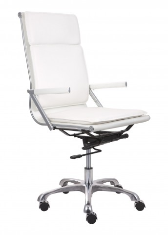 Lider Plus White High Back Office Chair