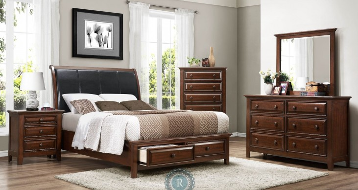 Sunderland Platform Storage Bedroom Set