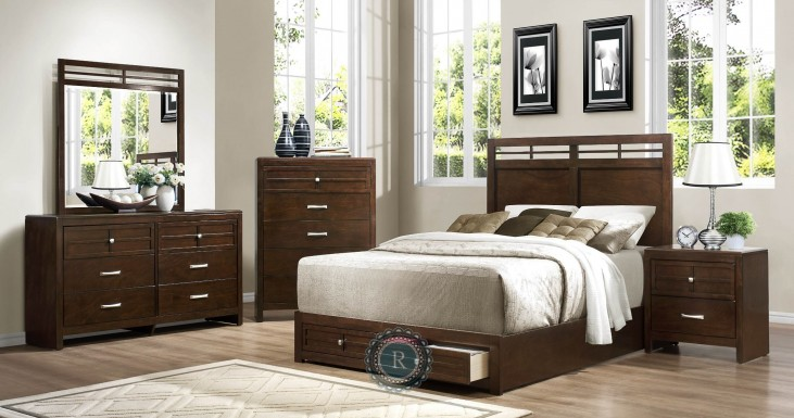 Greenfield Storage Bedroom Set