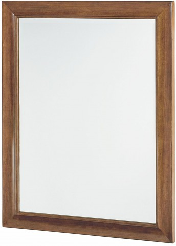 Miramar Smoky Brown Landscape Mirror