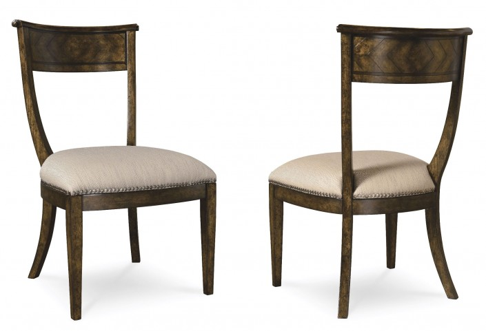Firenze Canella Slip-Seat Side Chair Set of 2