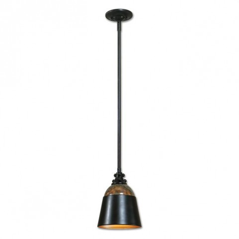 Madera Oil Rubbed Bronze Mini Pendant