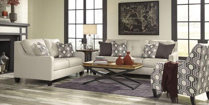 Guillerno Alabaster Living Room Set