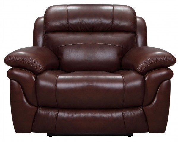 Edinburgh Brown Leather Power Recliner