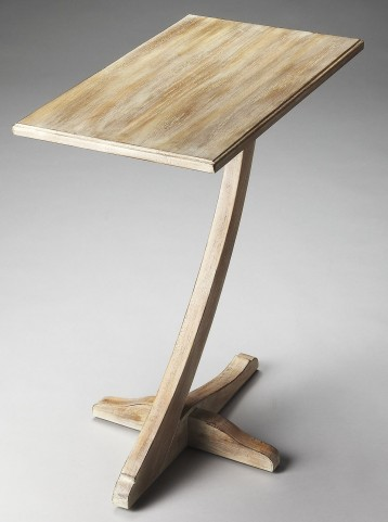Crawford Loft Driftwood Accent Table