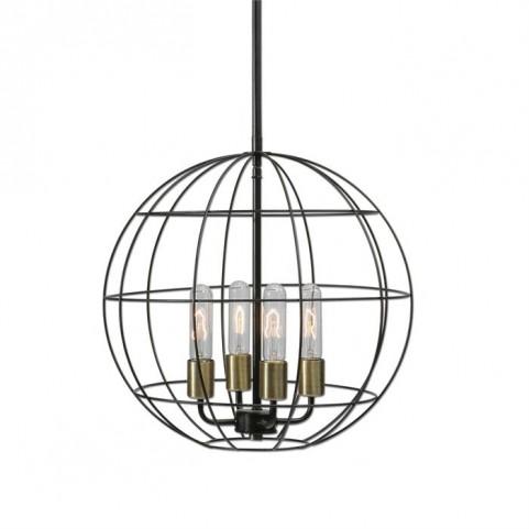 Palla 4 Light Sphere Pendant