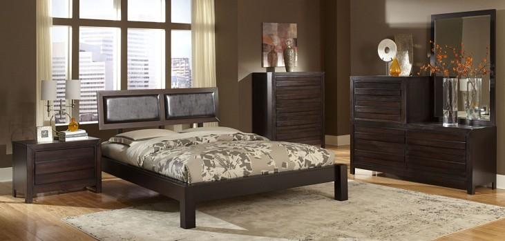 Danika Platform Bedroom Set