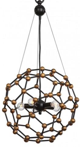 Molecule 5 Light Oil Rubbed Bronze Pendant