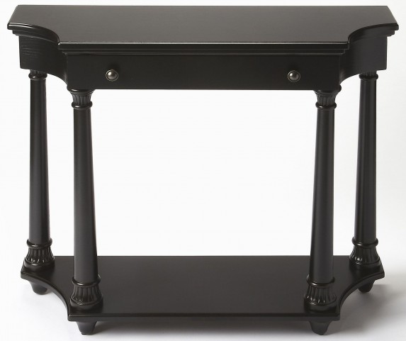 Hobson Black Licorice Console Table