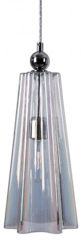Beckley 1 Light Fluted Glass Mini Pendant